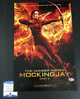 SUZANNE COLLINS SIGNED AUTO 12X18 THE HUNGER GAMES MOCKINGJAY 2 PHOTO BECKETT