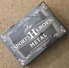 2017 LEAF SPORTS HEROES METAL HOBBY BOX 5 AUTOGRAPHS PER FREE PRIORITY SHIPPING