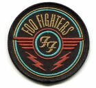 FOO FIGHTERS ff wings logo IRON ON PATCH Embroidered Patch