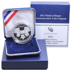 2011 P Medal of Honor Proof Commemorative 90 Silver Dollar OGP US Coin