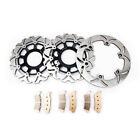 VTX 1800 Brake Rotors + Pads Front Rear for Honda VTX1800 C N S T R  2002-2011