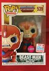 Beast Man Flocked Masters MOTU NYCC 2017 Exclusive Funko POP! Vinyl