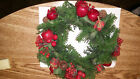 Vintage Plastic Christmas Wreath Candle Ring 11