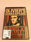 Oliviers Shakespeare Criterion Collection 3 Movie DVD Set New Sealed OOP HTF