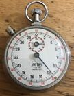 Vintage SMITHS 1/10 Jewelled Stopwatch Great Britain