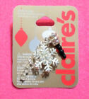 CLAIRES CHRISTMAS CELL PHONE PLUGS Jeweled Snowflake  Nice Icon NWT