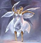 African American Black Art Print THE BLACK ORCHIDS by Lavarne Ross