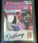 2017 Spectra DeMarco Murray Game Used 3clr Patch Auto Neon Pink Prizm 5 5