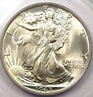 1945 Walking Liberty Half Dollar 50C Certified PCGS MS67 Rare in MS67 Grade