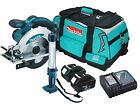 Makita BSS610 - 2x BL1830 - 1x DC18RC - 1x LXT400 Heavy Duty Bag - 1x BML184