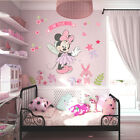 Girls Lovely Mouse Wall Stickers Decals Nursery Bedroom Decor Mural Baby Gift