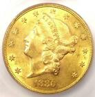 1880 Liberty Gold Double Eagle 20 Coin Certified ICG MS61 17780 Value
