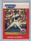 1988 Kenner Starting Lineup Card DWIGHT GOODEN  (2101)