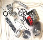 4 stroke gas motor bike engine kit 49cc in frame kit  double chain gear