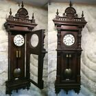 VTG VIENNA CRAZ REGULATOR GERMANY WALL STRIKE PENDULUM CLOCK 2 BRASS WEIGHS