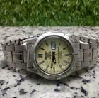 Vintage Seiko 5 Sports Automatic Movement No. 7S36 Japan Made Men's Watch
