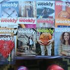 13 Weight Watchers Weekly Magazines Weeklies 2015 2016 and 3 Paper trackers