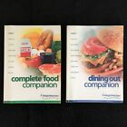 Weight Watchers FLEX POINTS Set COMPLETE FOOD  DINING OUT COMPANION Books 2003