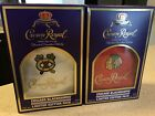 Crown Royal Chicago Blackhawks Limited Edition Bags with Boxes 2016 and 2017