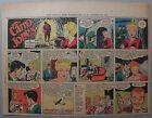 Miss Cairo Jones Sunday by Bob Oksner from 10 21 1945 Half Page Size Full Color
