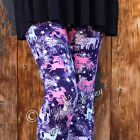 Whimsical Unicorn And Star Buttery Soft Leggings One Size Os