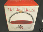 FITZ & FLOYD 2007  HOLIDAY HOME CELEBRATE BASKET WITH SNOWMAN NEW N BOX