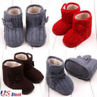Newborn Toddler Baby Boy Girl Infant Warm Snow Boots Soft Sole Booties Prewalker