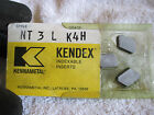 New 3 Count Kennametal Top Notch Carbide Threading Inserts NT 3 L Grade K4H