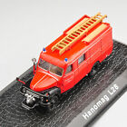 Atlas 1/72 Metal Alloy Diecast Hanomag L28 Fire Truck Car Collectible Model Toy