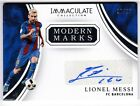 Lionel Messi Argentina 2017 Panini Immaculate Modern Marks Auto Autograph 20 25