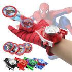 Marvel Superhero Spider Man Hulk Launchers Gloves Cosplay Kid Role Play Toy Gift