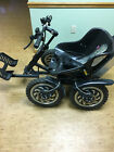 Zoom all electric 4wd recumbent seated all terrain vehicle