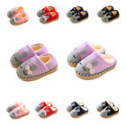 SITAILE Kids Cute Bunny Winter Baby Slipper Shoes Toddler Fur Home Slippers