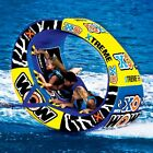 WOW Watersports XO Extreme Inflatable Water 1 3 Rider Tube Boat Towable 12 1030