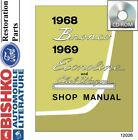 1968 1969 Ford Econoline Bronco Shop Service Repair Manual CD Engine Drivetrain