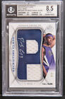 2008-09 SP authentic recruiting class full name Patrick Ewing jr. bgs 8.5 rc 4 6
