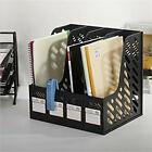 Magazine Publication Filing Tray 4 Shelf Storage Box Divider File Holders Office