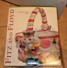 Fitz and Floyd Nutcracker Sweets Ceramic Handcrafted Basket 2003 New W/Box/Tags
