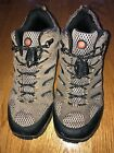 Merrell Boots Size 5 Boys Leather Hiking Shoes