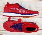 PUMA Speed Ignite Netfit Running Shoes Red Navy White Men 10 New NoBox