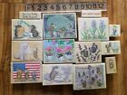 Stampabilities House Mouse rubber stamps Amanda Mudpie Muzzy Monica