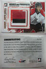 2011-12 ITG Heroes and Prospects SSM-04 Yannick Dube 1 1 number gold 1 of 1 rc