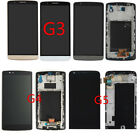 LCD Display Touch Screen Digitizer Frame Full Glass Assembly For LG G3 G4 G5 US