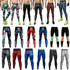 Mens Sport Gym Thermal Tight Compression Training Body Base Layer Long Pants New