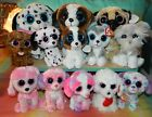 Lot of 13 TY BEANIE BOOS Puppy Dogs NWT 6