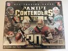 2012 Panini Contenders Football Hobby Box Unopened. Russel Wilson Rookie? Luck?