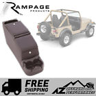 Rampage Deluxe Locking Center Console 76 95 Jeep CJ 7  Wrangler YJ 31615 Black