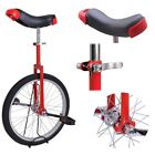 20 Red Unicycle Cycling Scooter Circus Bike Skidproof Tire Balance Exercise