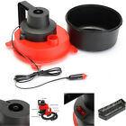 12V 75W Car Wet Dry Vac Vacuum Cleaner Inflator Portable Turbo Hand Held Tools