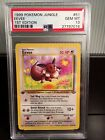 Pokemon Jungle PSA 10 GEM MINT 1st Edition Eevee 51 64 Freshly Graded